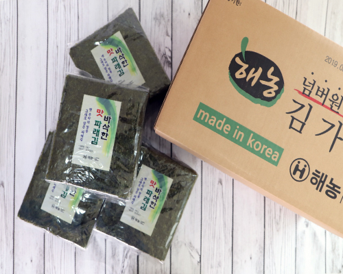 땡김 세트3 [넘버원김가루1kg*4봉+맛파래김190g*4봉]