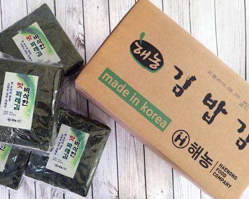 땡김 세트6 [김밥김골드200g*20봉+맛파래김190g*4봉]